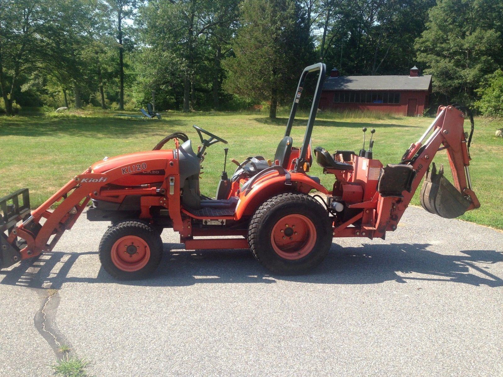 Pin by Bbeeaarr123 on kioti tractors | Tractors, Backhoe loader