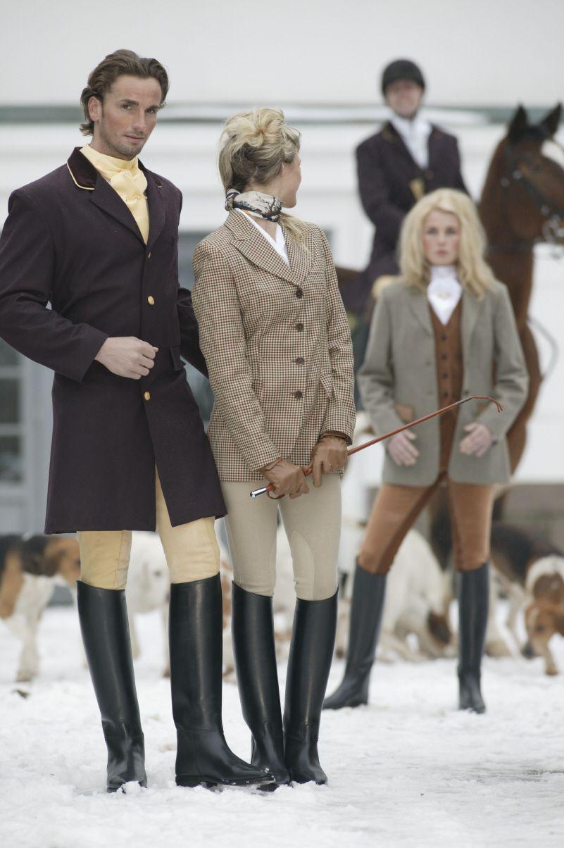 German Fox Hunters Equestrian Style Horse Riding