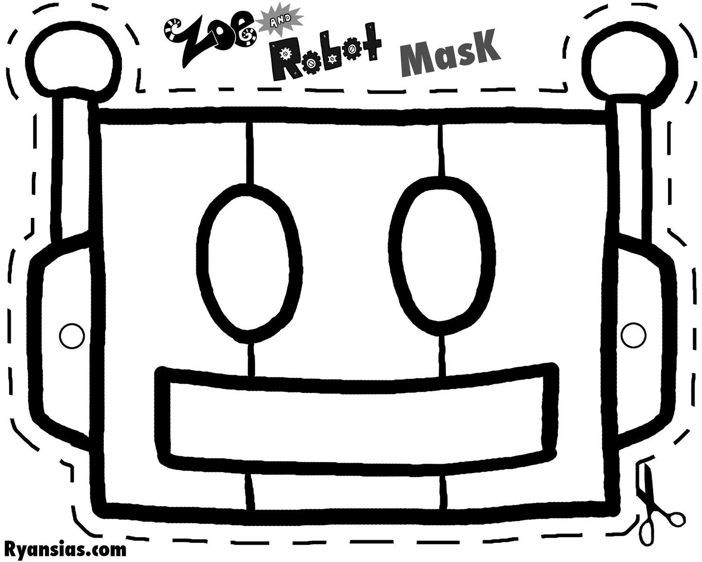 robot mask - Google Search | Teachers | Pinterest | Masking