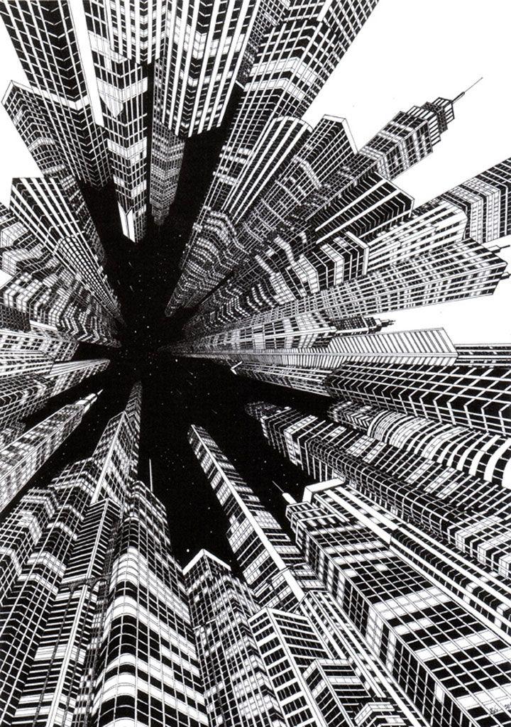 Illustration: Josh Raymond #arquitectonico