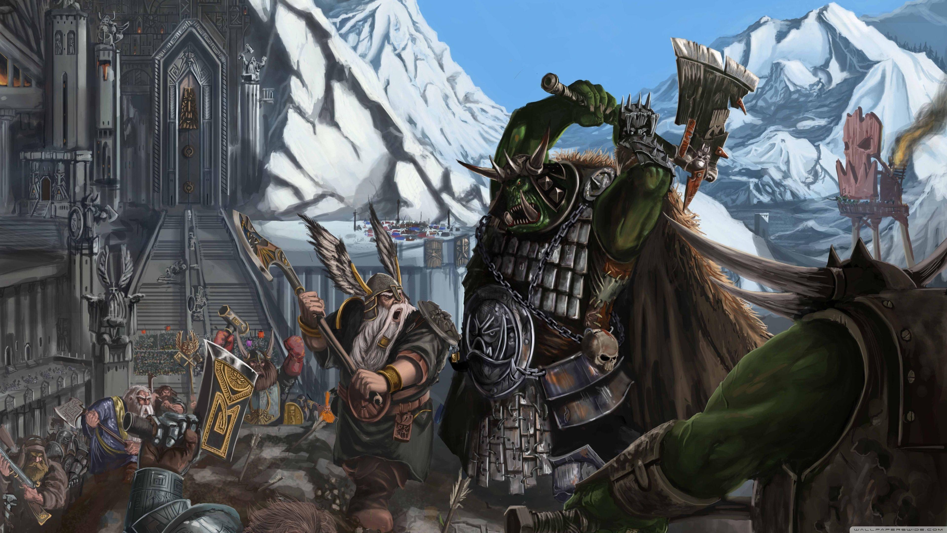 Fantasy Battles Hd Desktop Wallpaper High Definition Fantasy Battle Warhammer Fantasy Warhammer Fantasy Battle