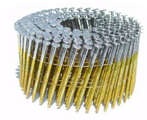 Hitachi 13338 2-1//4-Inch x .092 Ring Electro Galvanized Coil Nail