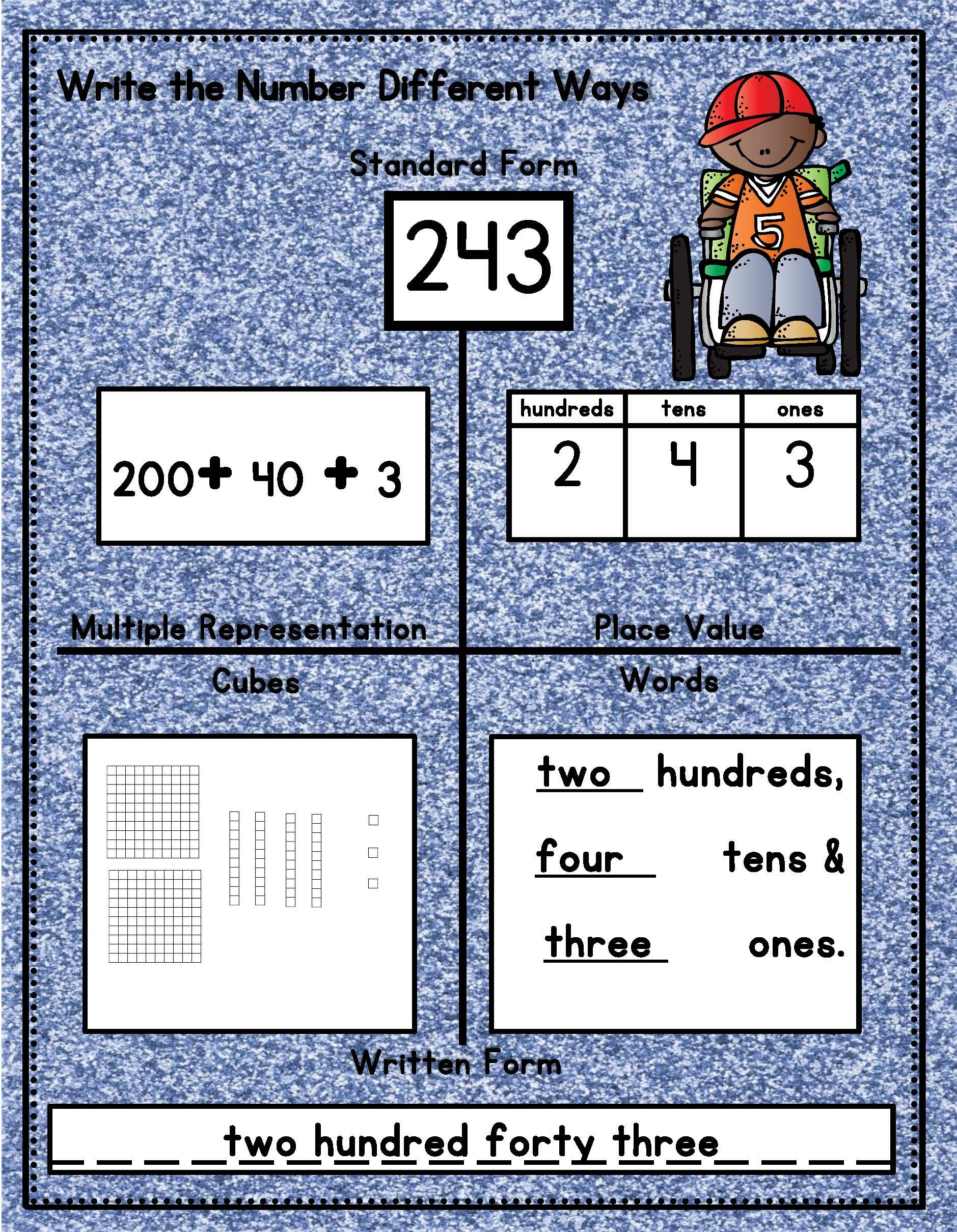 How Do You Practice Place Value Learning To Represent