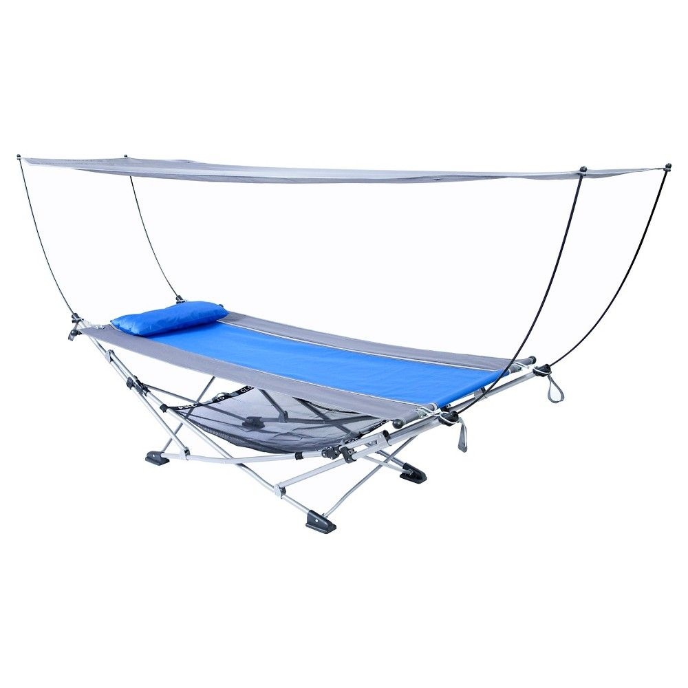 Mac Sports Hammock With Canopy Blue Products Camping Furniture