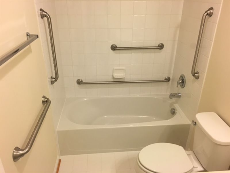 Peachy Handicapped Grab Bars Installation Maryland Washington Dc Home Interior And Landscaping Oversignezvosmurscom