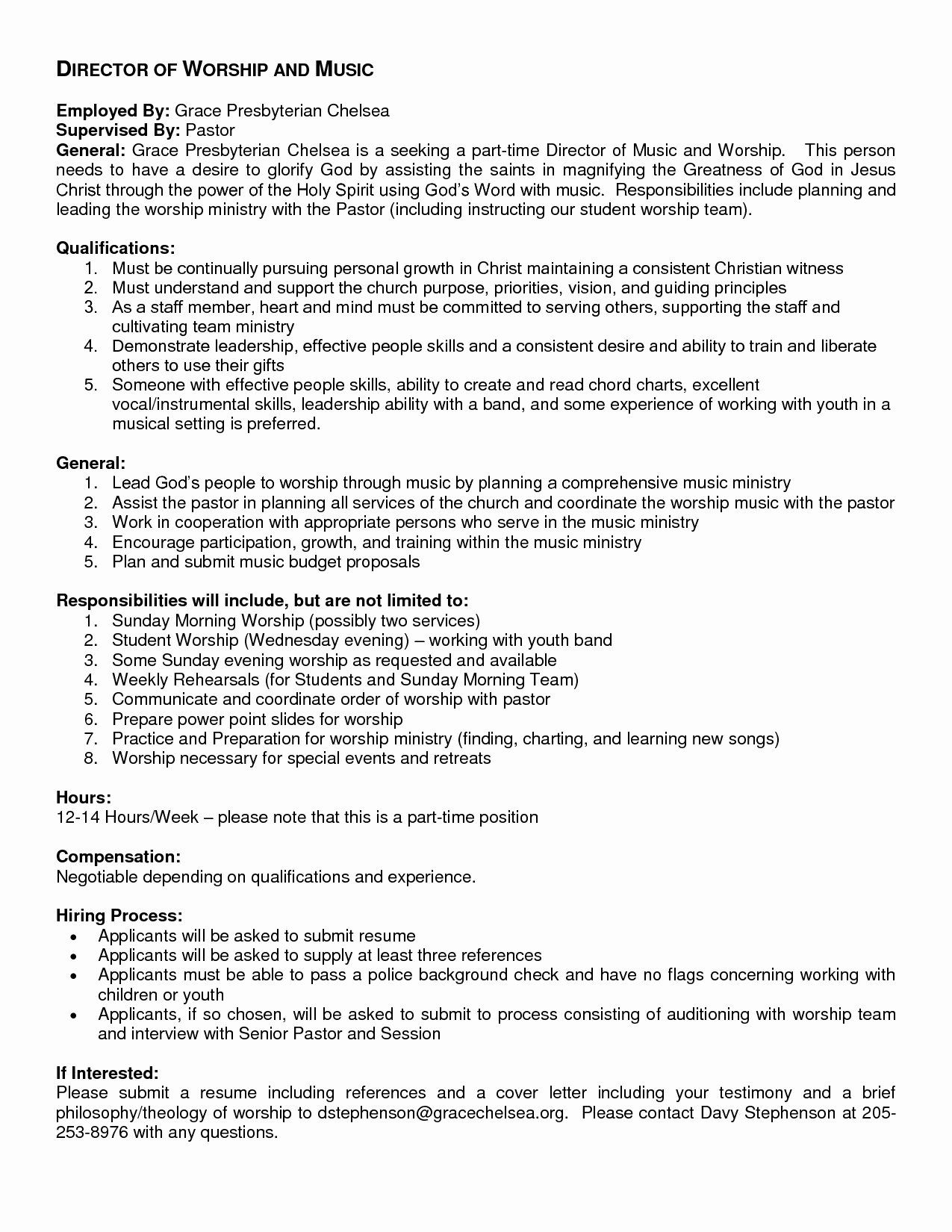 Youth Ministry Budget Template Luxury Proposal Letter For