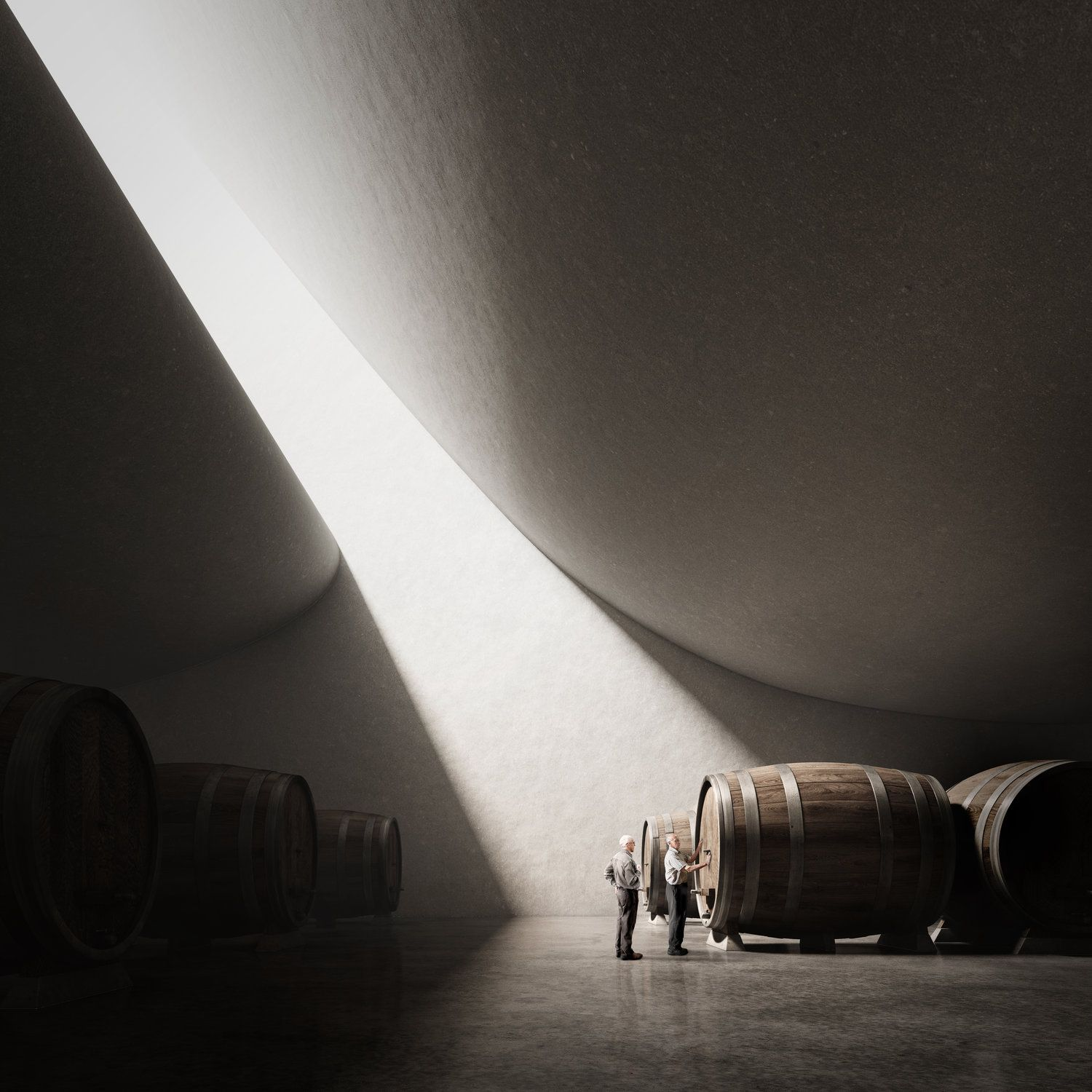 Peter Zumthor Pingus Winery Unbuilt Series