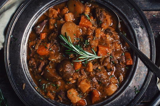Photo of Maudite Beef Stew with Slow Cooker – Le Cou …