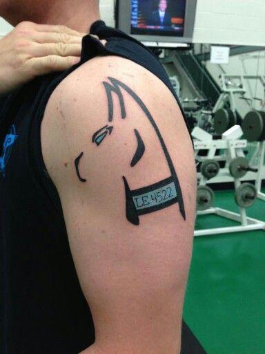 K9 Tattoo Line Tattoos Tattoo Designs Tattoos