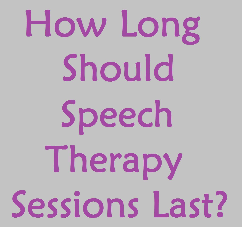 How long should a speech be