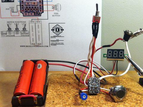 OKR T-10 Breakout Board - Assembled | Vaping | Vape, Diy