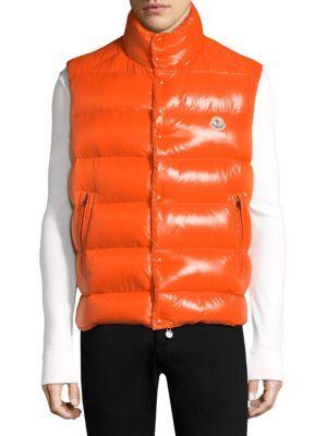 MONCLER Tib Gilet Quilted Vest. #moncler #cloth #