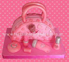 Girly Make-up Set  / Carterita y Maquillajes (Tortas Encantadas) Tags: original argentina cake set pilar bag de mujer buenosaires y para buenos aires capital makeup nia chicas kit nias cumpleaos mujeres federal torta maquillaje nenas espectaculares especiales tortas increibles increible espectacular originales decoradas decorada