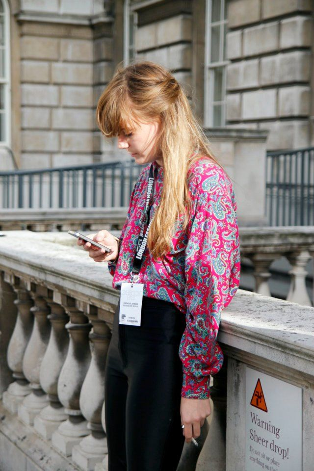 London Fashion Week 2011 Street Style - Photography by THE WHITEPEPPER