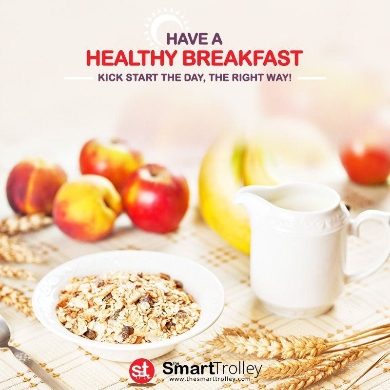 Have a #Healthy #Breakfast, Meet a NEW YOU!  Give your day a #healthy start and see the #difference!