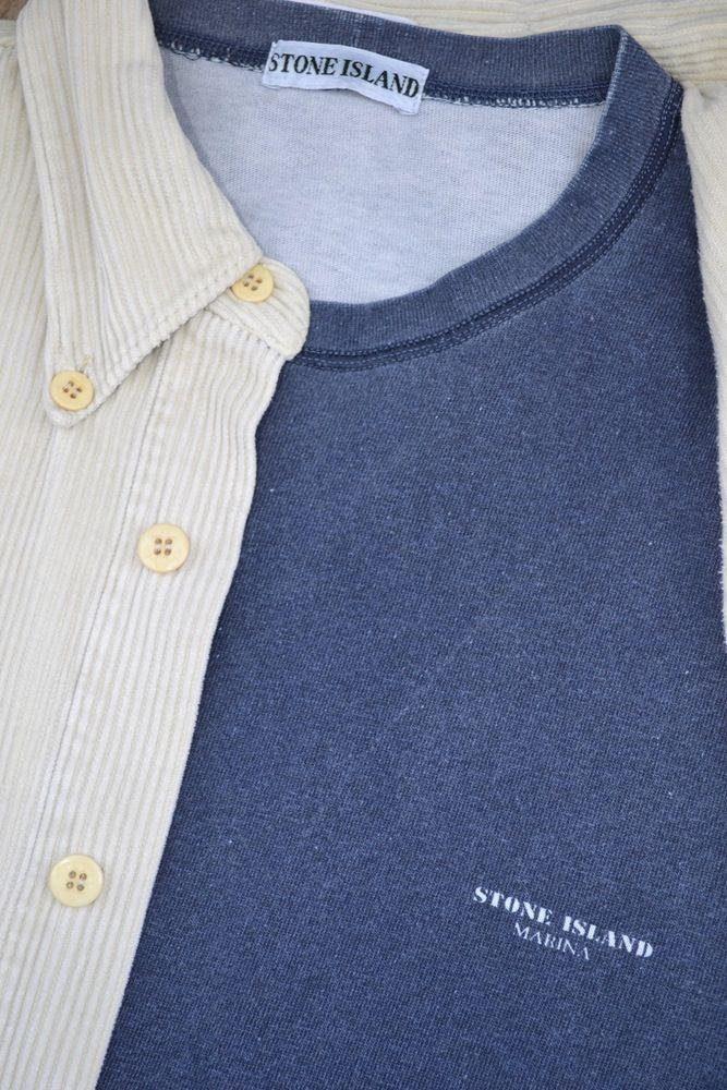 Image Of Vintage 90 S Stone Island Marina T Shirt Mens Tops Shirts Fashion
