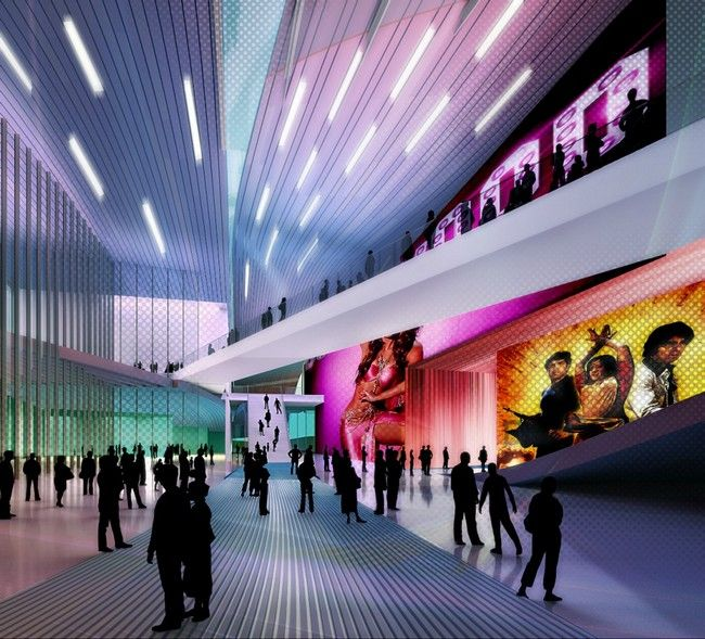 Design Of Bollywood Museum Located In The Film City Area Mumbai India Interior DegreeDesign ConceptsBollywoodCannonInteractive
