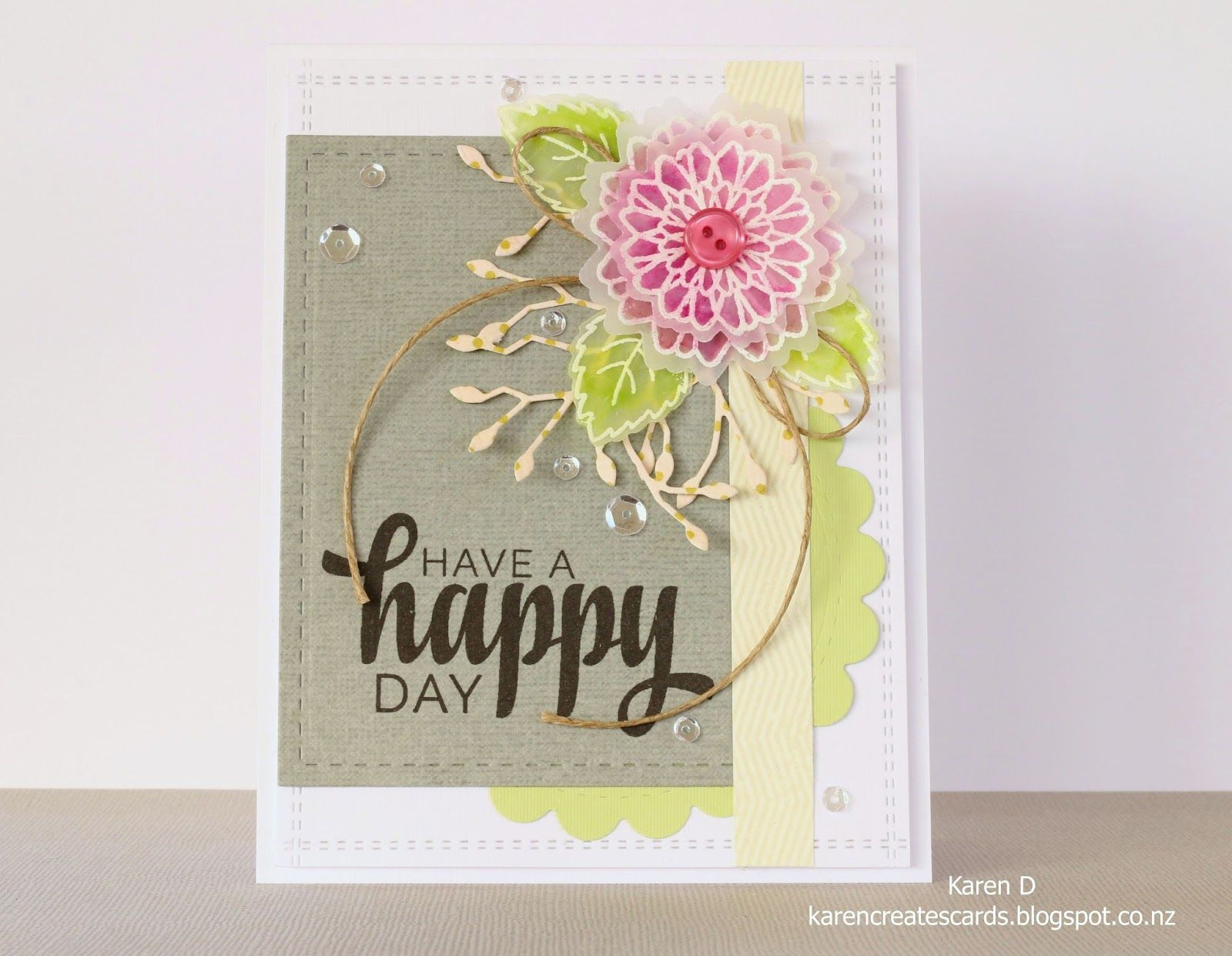 About cardmaking, with tips, ideas, my card making journey into challenges etc