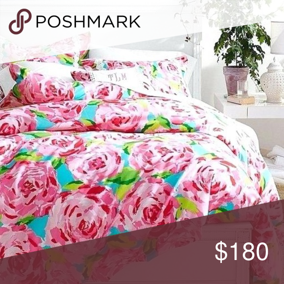 Lilly Pulitzer First Impressions Duvet, Lilly Pulitzer First Impression Bedding
