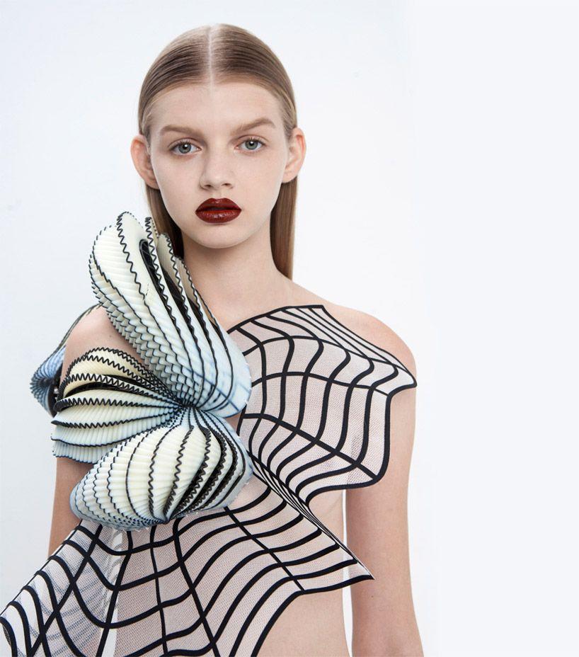 A beleza nos vestidos impressos em 3d de noa raviv for Virtual designers