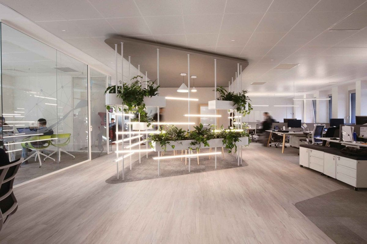 Sorgenia Offices Milan Office Snapshots Workplace Design Retail Design Office Design