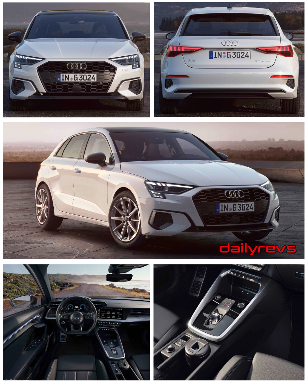 2021 Audi A3 Sportback 30 g-tron - Dailyrevs | Audi a3 ...