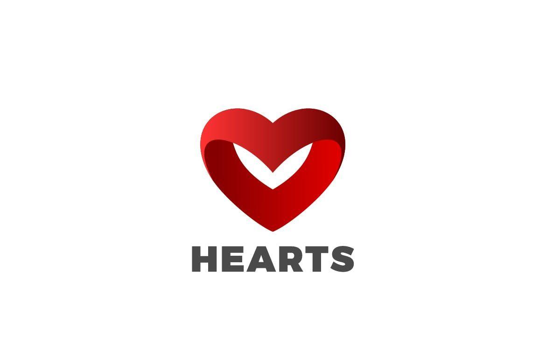 logo heart love cardiologysentavio on envato elements