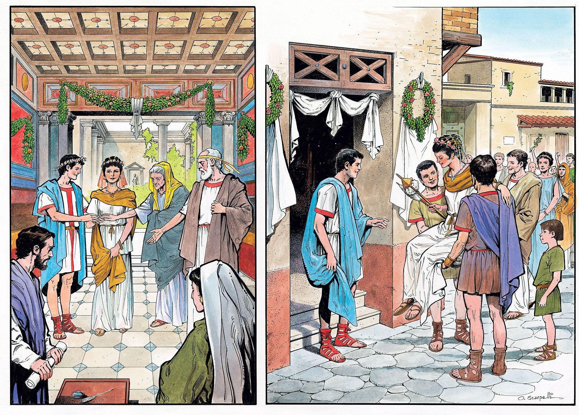 Matrimonio En El Imperio Romano : Matrimonio escuela roma antigua imperio romano y roma