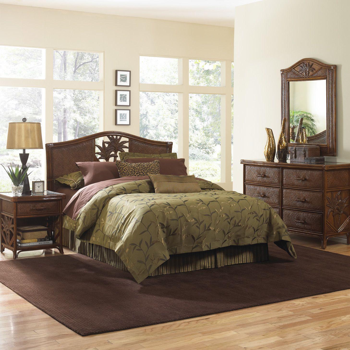 Bay Isle Home Cypress Platform 4 Piece Bedroom Set