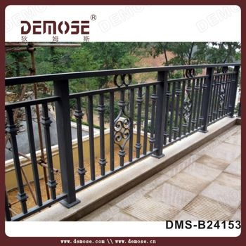 wall mounted bracket iron handrails antique iron balcony railings designs buy iron balcony railings designswall mounted bracketiron handrails antique - Wall Railings Designs