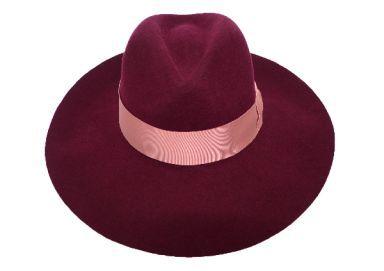 Felt Shade Plum Hat
