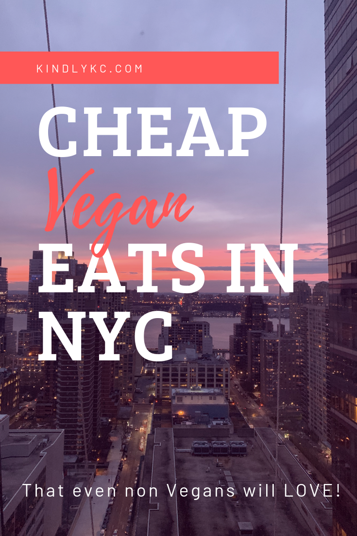 The Best Vegan Restaurant In New York City!