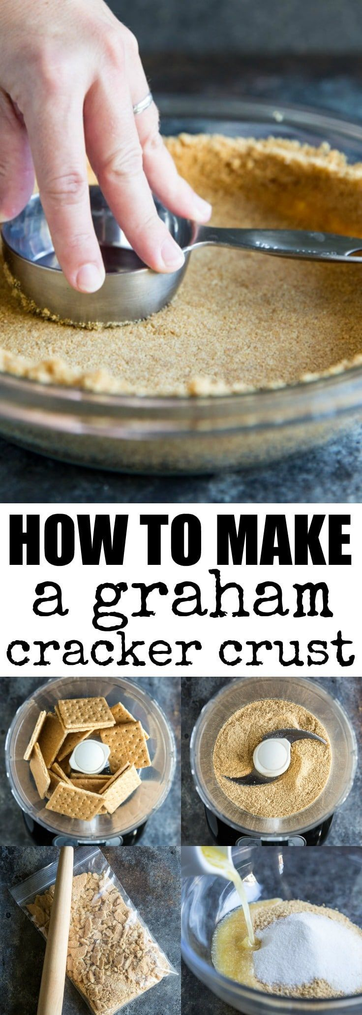 Learn how to make a Graham Cracker Crust from scra…