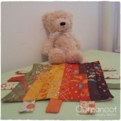 Oomanoot | A Baby Gift that Works Like a Charm (Pack) – Part 2: Tag Blanket Tutorial