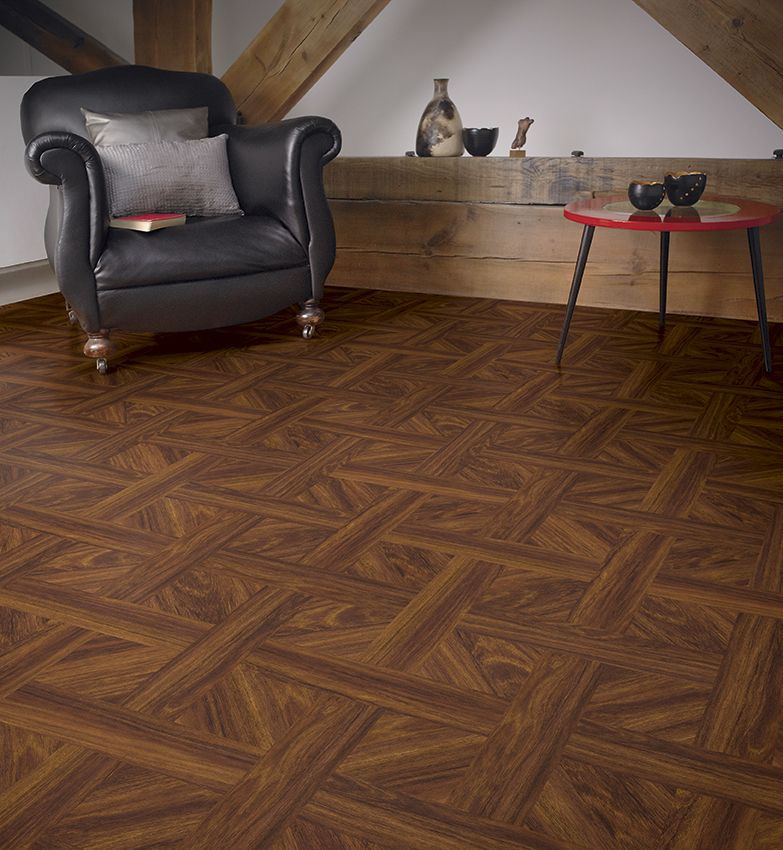 Flooring Ideas Minimalist Living Room Design With Grey Leather Armchair And Brazillian Rosewood Vinyl Floor
