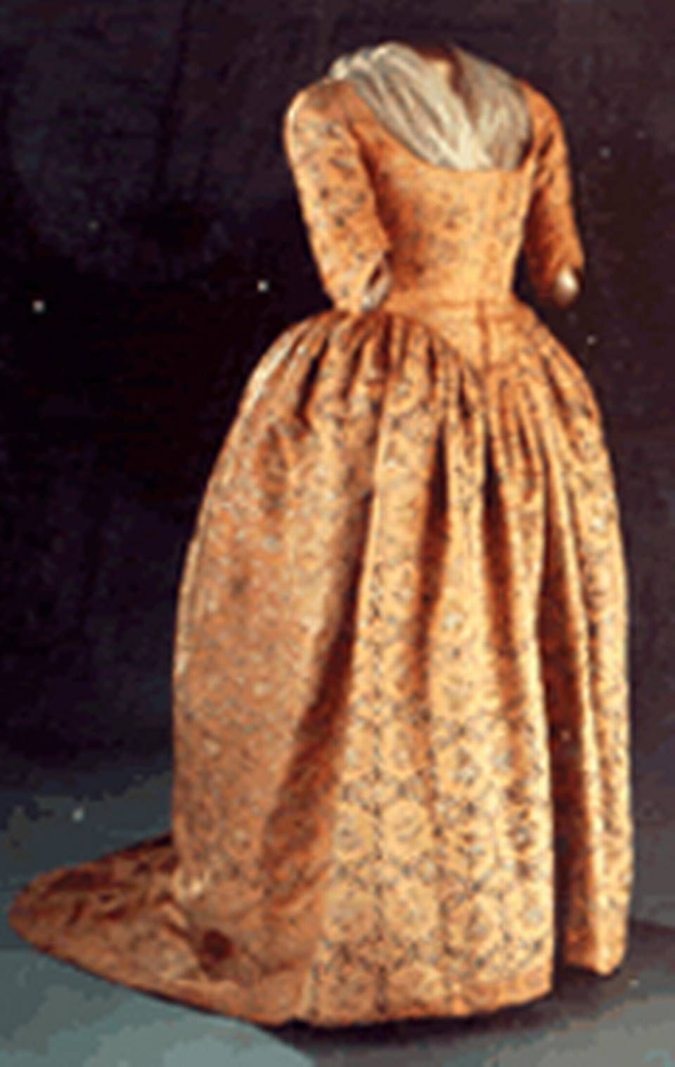 Martha Washington\'s inaugural gown, 1780 | Presidents/Wives & Others ...