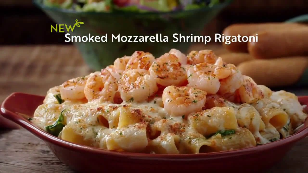 Olive Garden Oven Baked Pastas Season Apos S Hottest Must Haves Tv Commercial 2019 Tortelloni Recipes Baked Pasta Recipes Pasta Bake