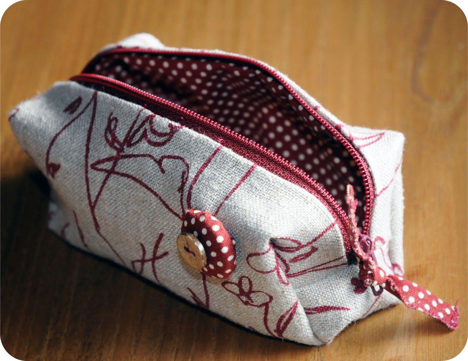 Le coccole creative cucito creativo astucci trousse for Cucina giocattolo fai da te