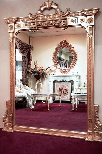 Federal Large Arched Floor Mirror MBH- MF012 - - SHINE MIRRORS ...