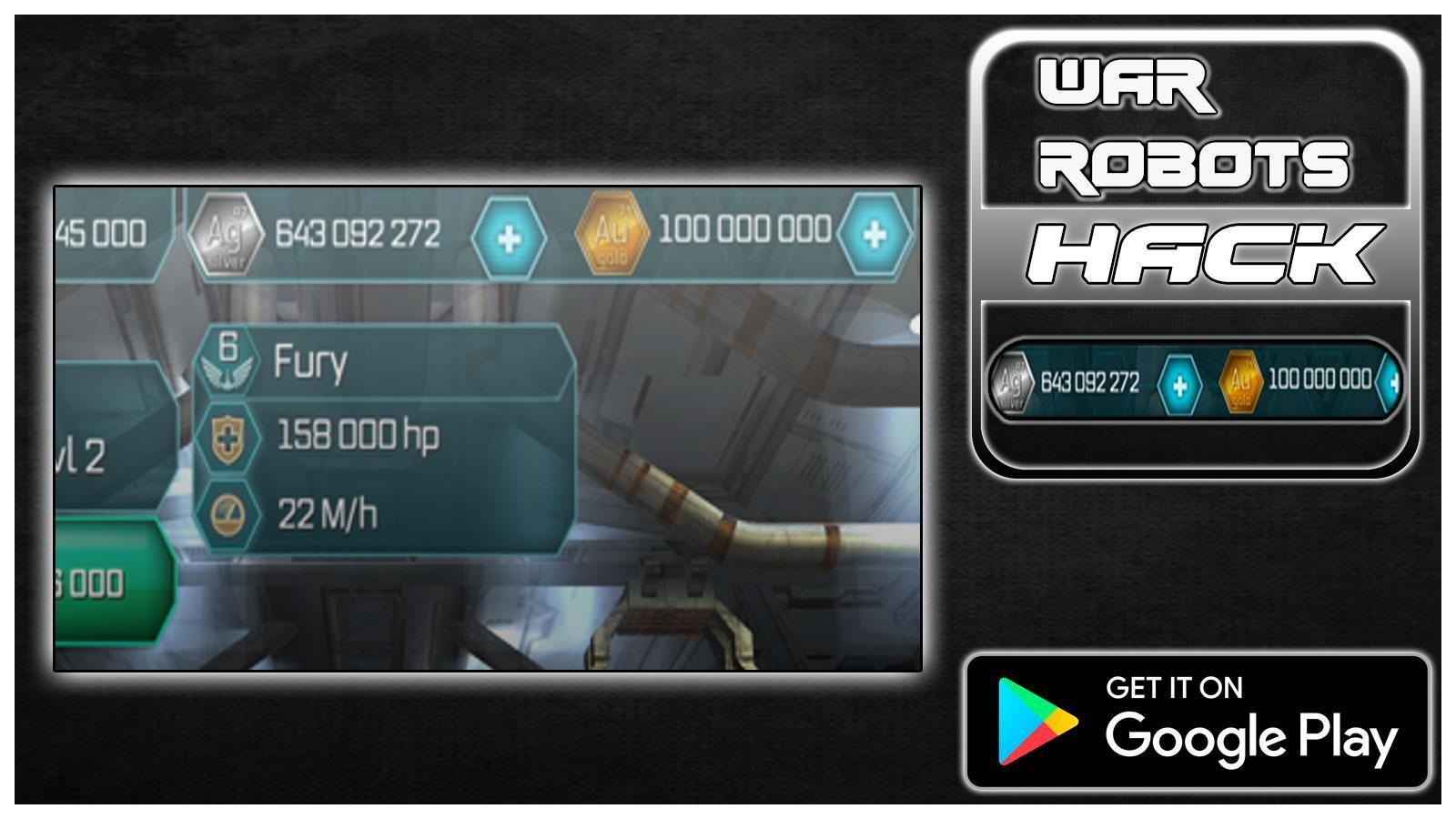 Android Ios War Robots Hack Apk Get 9999999 Gold And Silver War