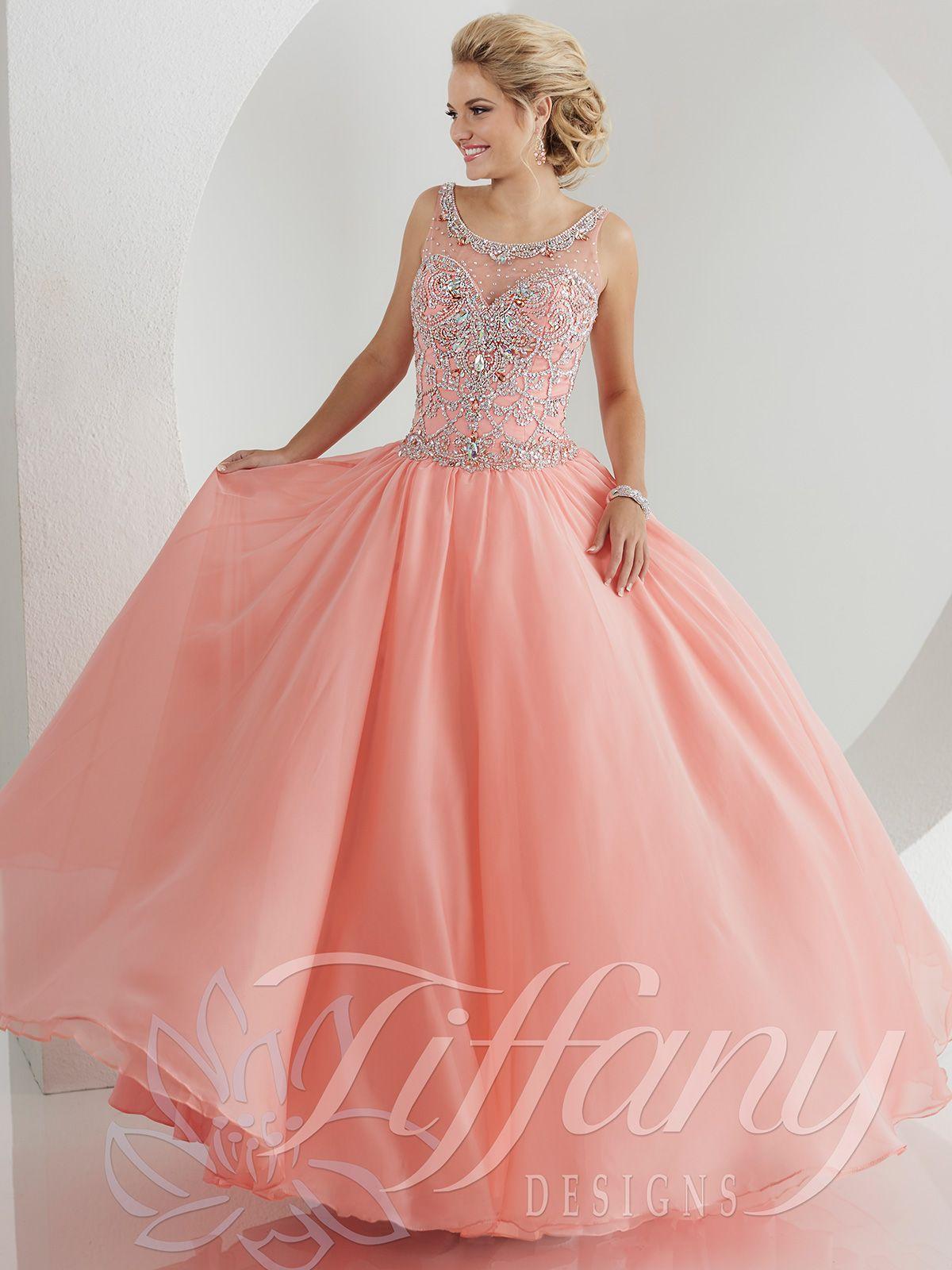 Tiffany Designs Ball Gowns | Western | Pinterest