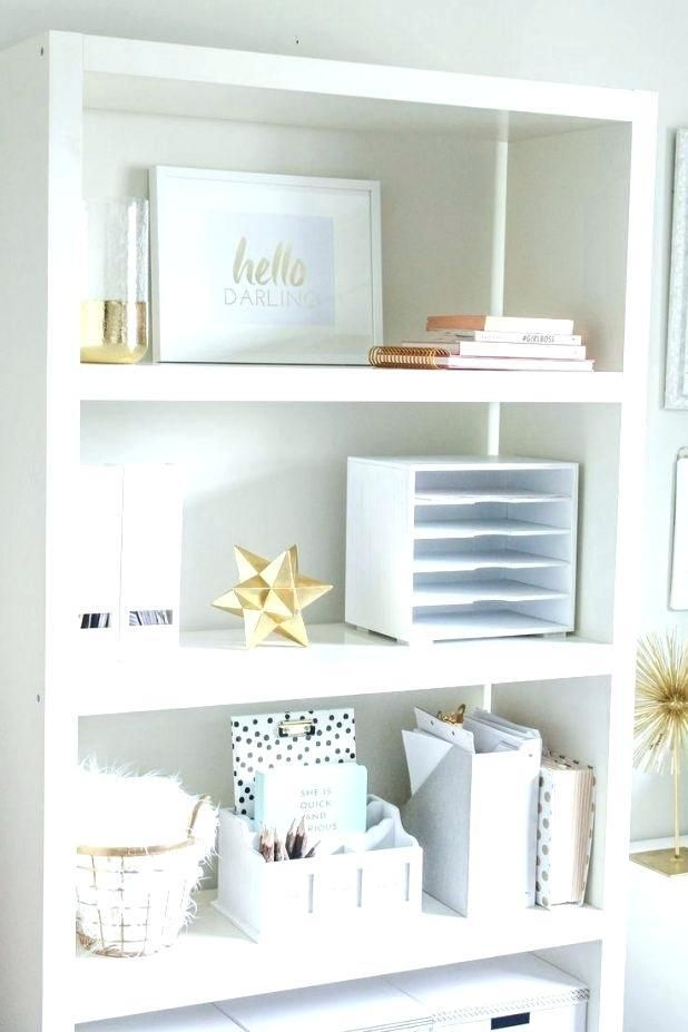 Elegant Office Supplies Interior White And Gold Office Supplies