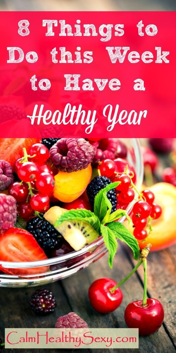 8 simple things you can do right to live healthier and feel happier this year. Healthy diet | Exerci...