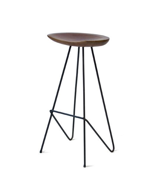 Phenomenal Hairpin Bar Stool With Wooden Seat In 2019 Stool Home Pdpeps Interior Chair Design Pdpepsorg
