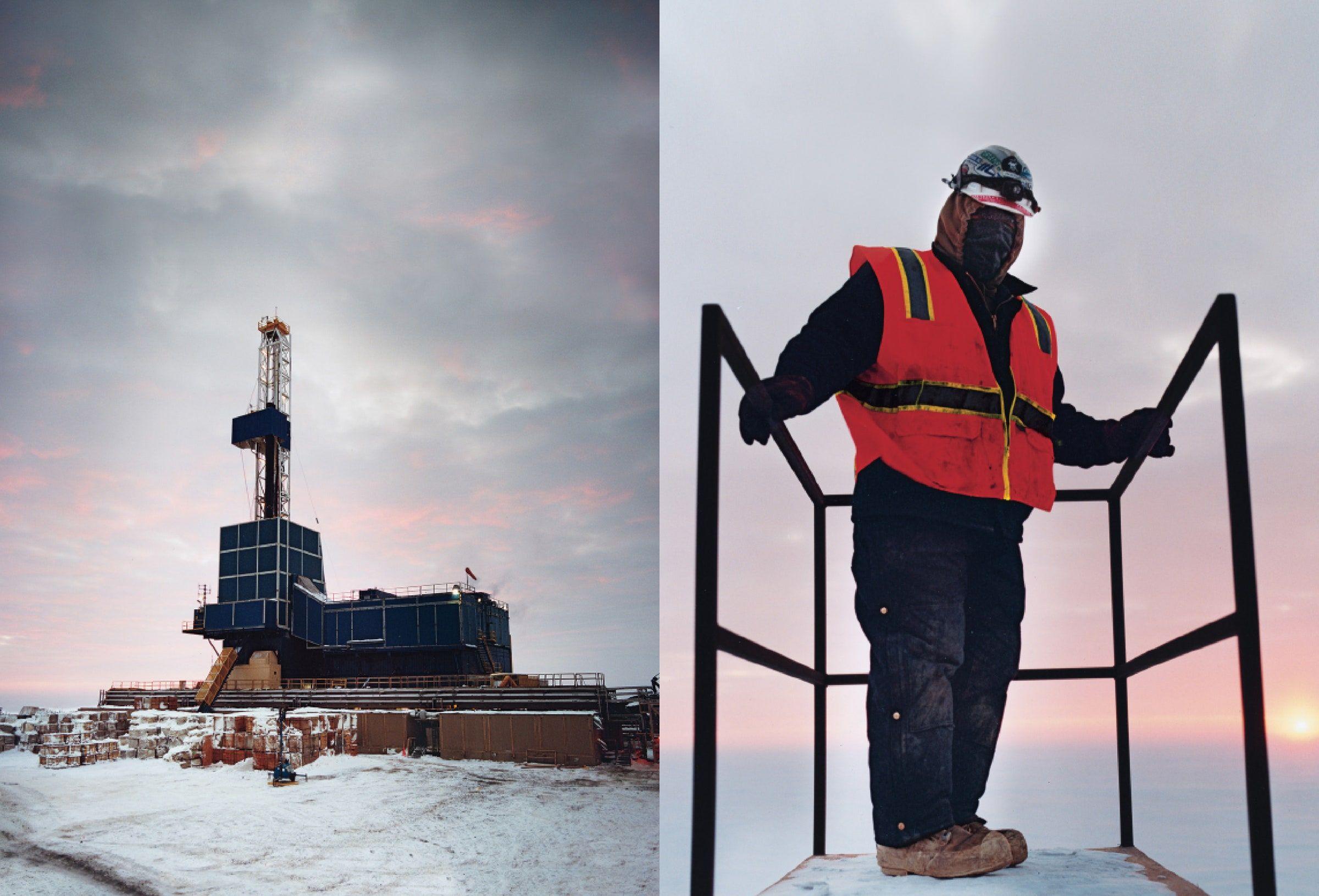 Life On An Arctic Oil Rig Gq Arctic Man Made Island Arctic Ocean