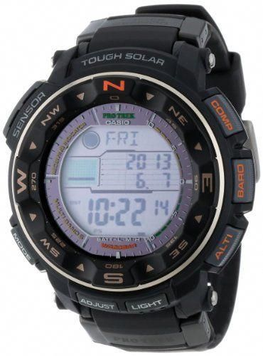 a157fb0f0 Casio Men's PRW-2500R-1CR Pro Trek Tough Solar Digital Sport Watch | Vape  en 2019 | Pinterest | Reloj, Reloj hora y Compras