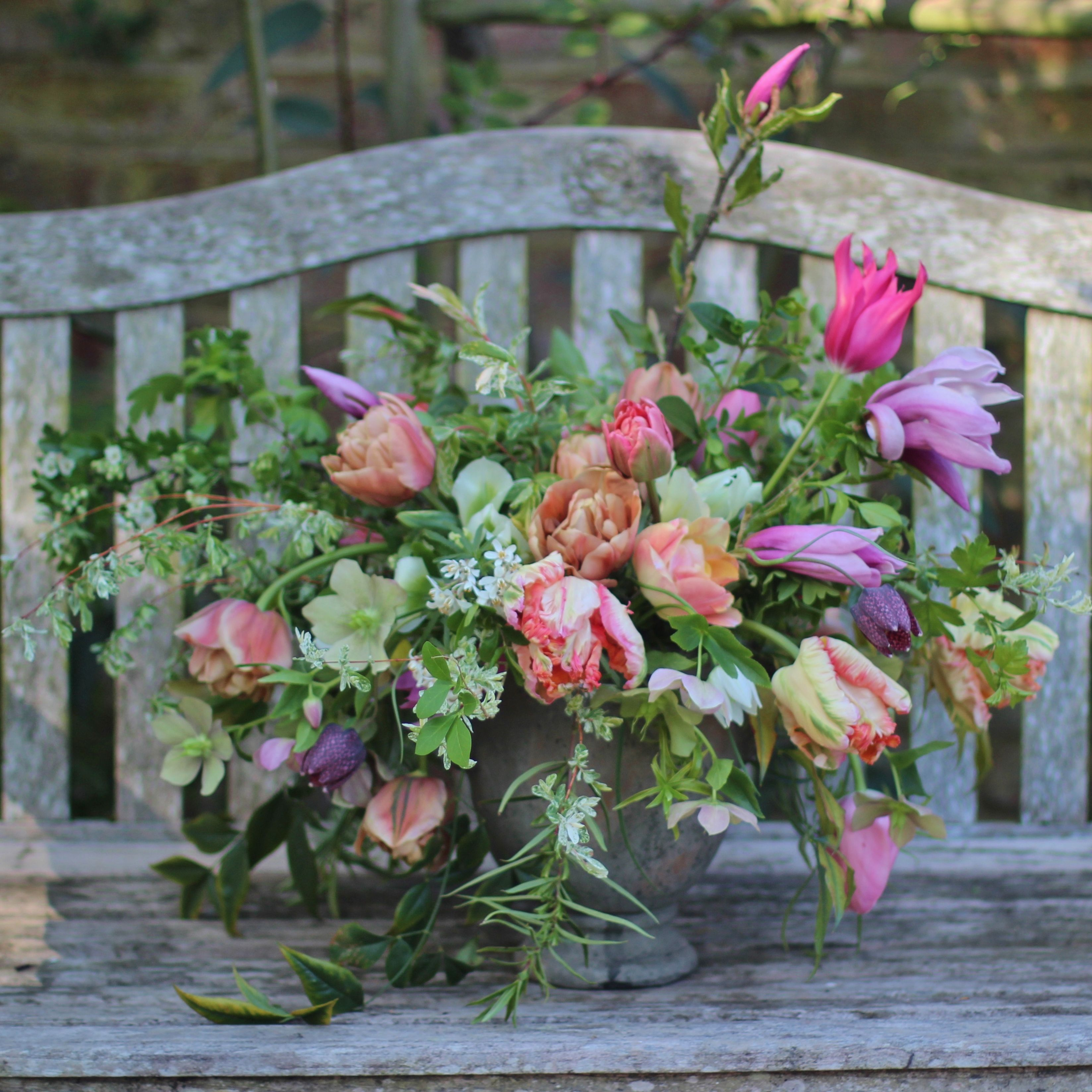 Lock Cottage Flowers West Byfleet Surrey Florist Wedding