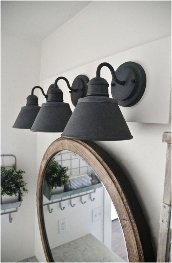 151 Stylish Bathroom Vanity Lighting Ideas | Gorgeous Interior Ideas on modern rustic lighting ideas, farmhouse dining room ideas, farmhouse kitchen table lighting ideas,