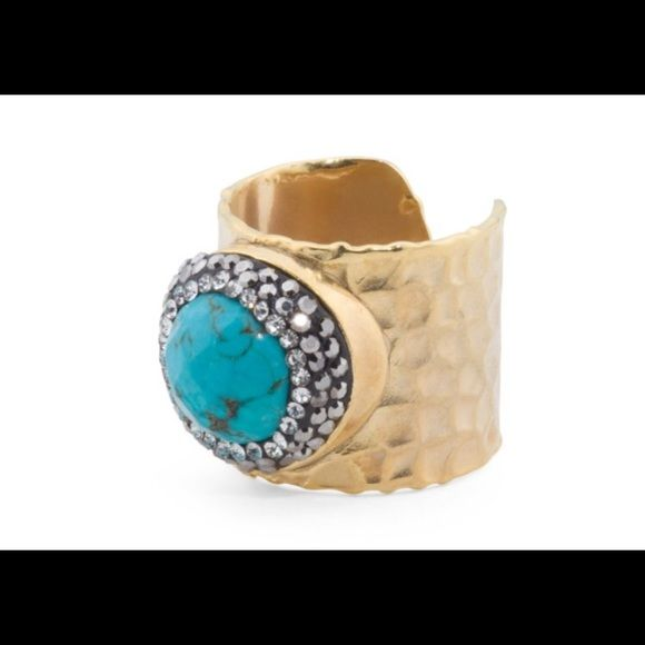Kevia Jewelry - Turkish turquoise ring