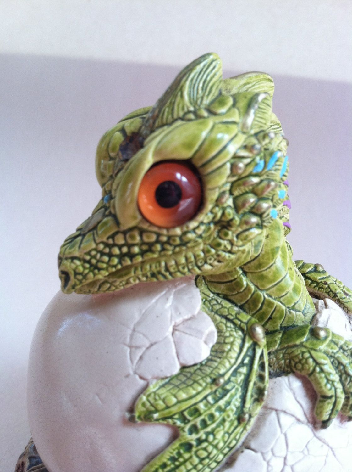 Baby Hatching Dragon by Windstone Editions by CapeCodGigi